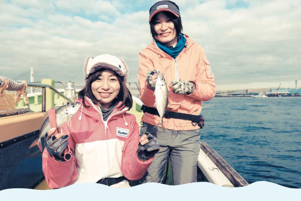 初めてでも大丈夫!! 船で行くアジ釣りの楽しみ方。