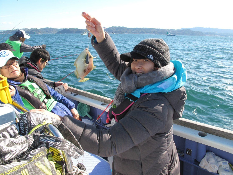 女性限定カワハギ釣り体験教室_2018年11月3日(土)開催