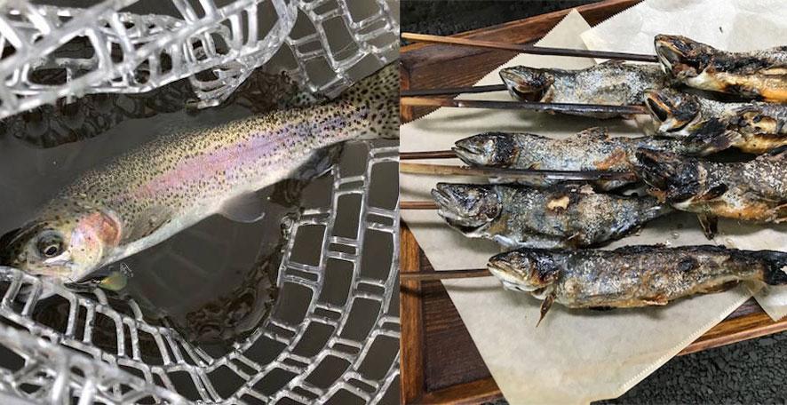 つりジェンヌ:管理釣場トラウトフィッシング体験