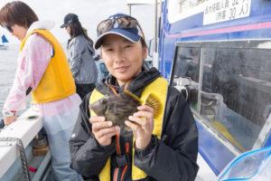 カワハギ釣り体験@千葉県勝山港
